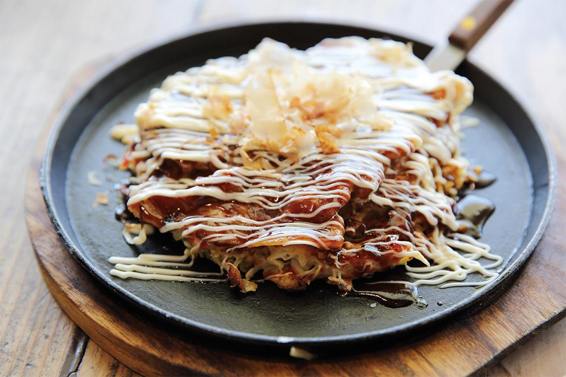 Okonomiyaki. Photography: Shutterstock / Piyato.