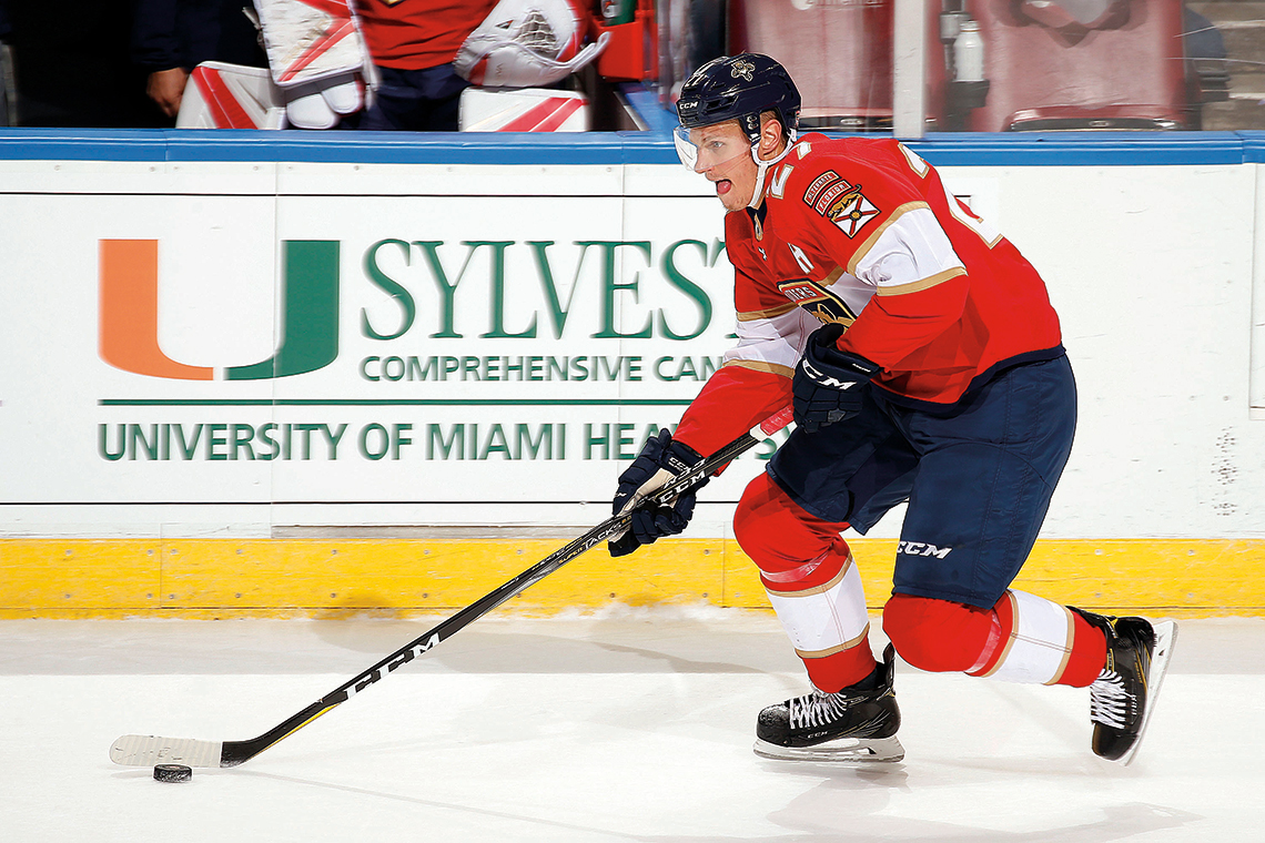 Photography: Eliot Schechter - Florida Panthers.