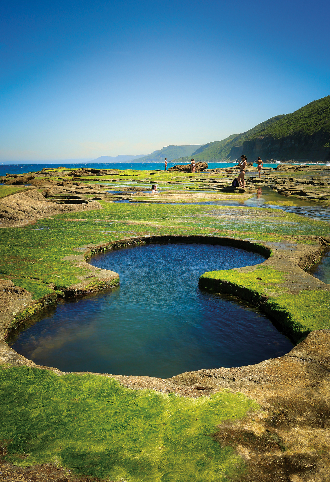 Figure Eight Pools.Photography: Shutterstock / Ian Woolcock.