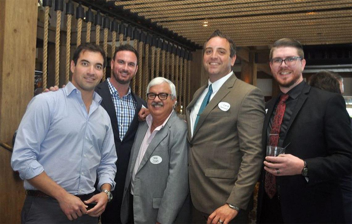 Nick Rojo, Joseph Costello, Jorge Cosio, Alberto Bamond and Vernon Ross.