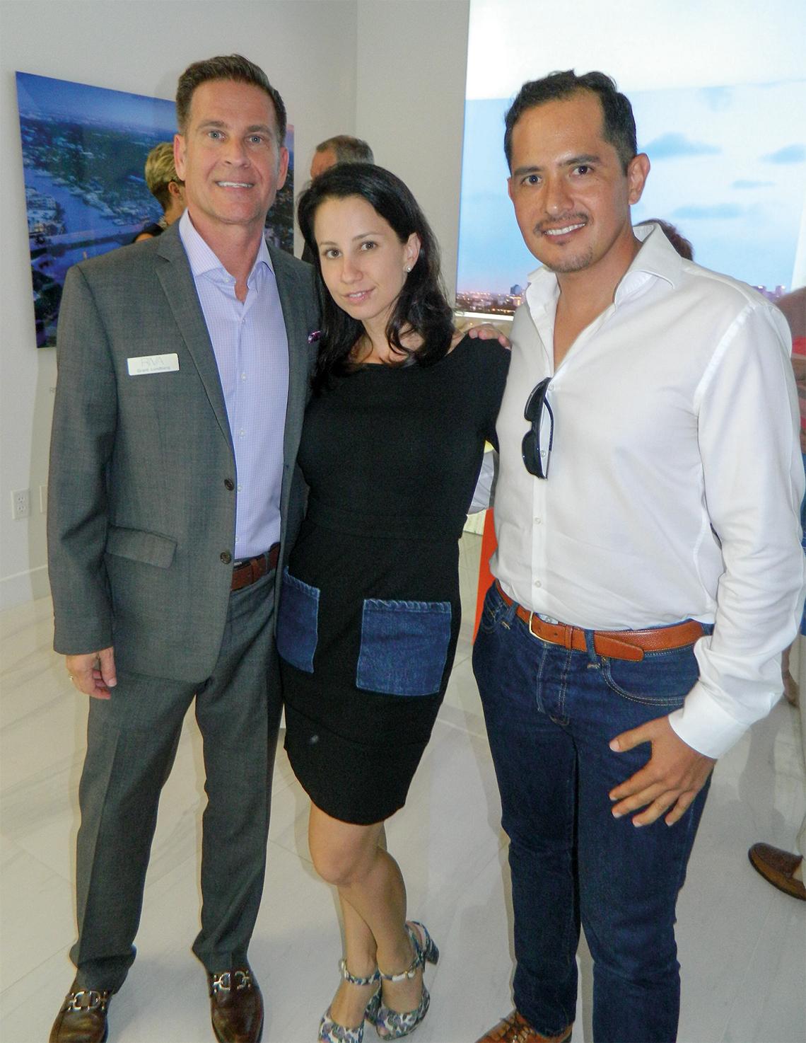 Grant Lundberg, Dayana Susterman and Windsor Rodriguez.