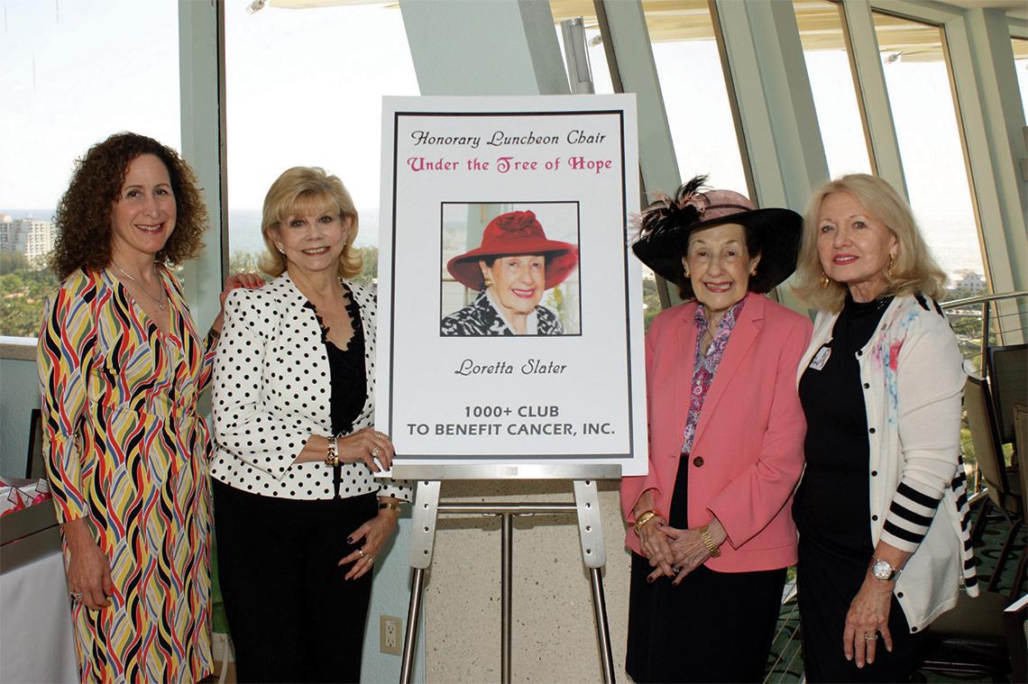 Amy Menger, Carole Falkanger, Loretta Slater and Gina Stelnik