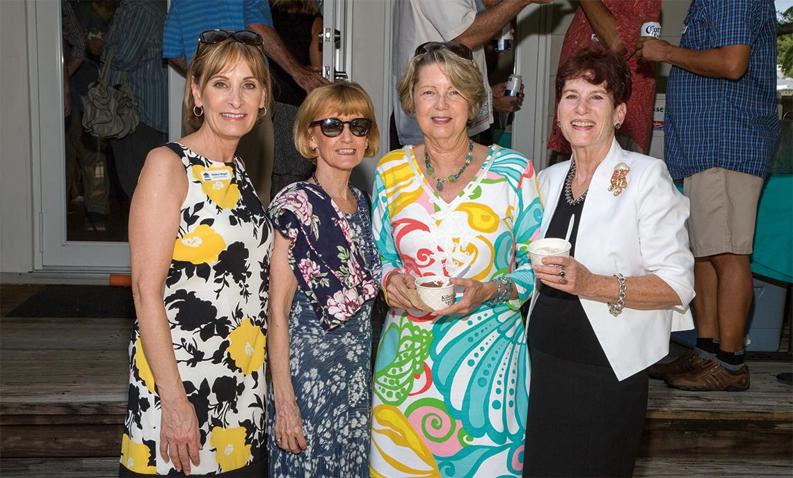 Stranahan House Board of Directors: President Debra Vogel, Margarethe Sorensen, Claire Crawford and Patsy West.