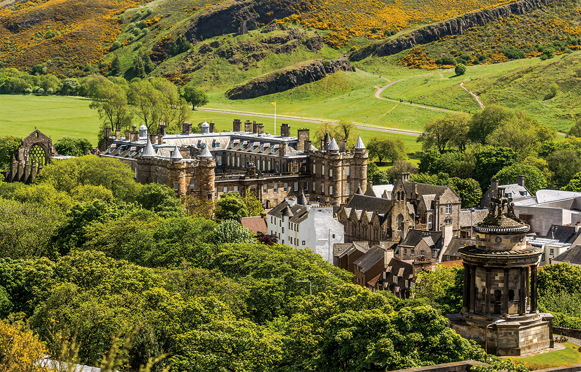 Holyrood Palace. Photography: Shutterstock / David Ionut.