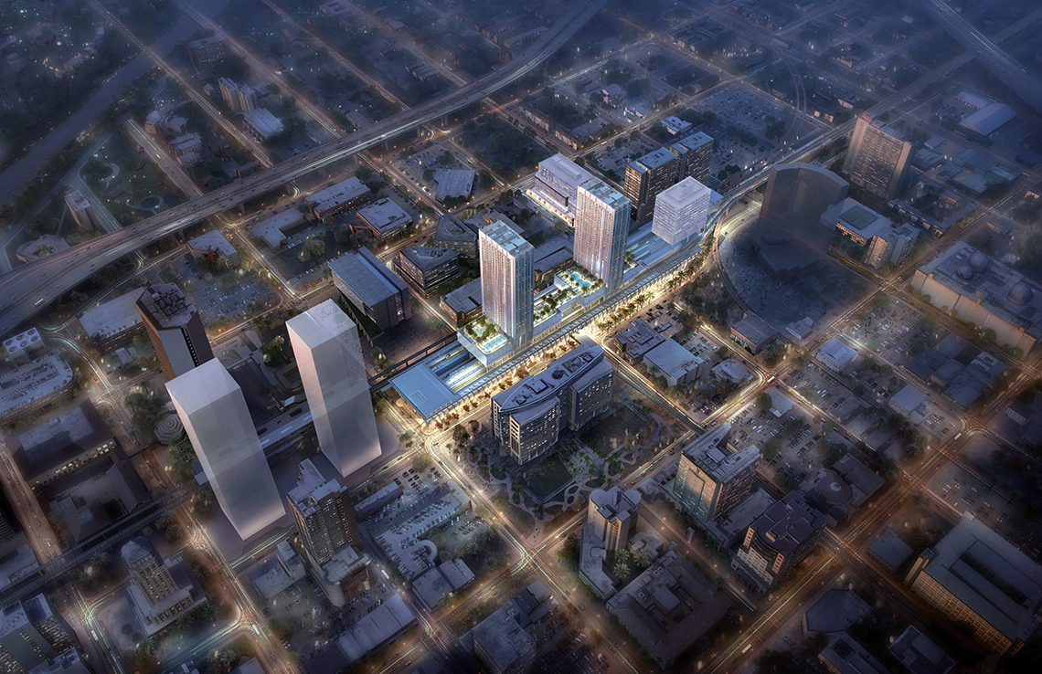 Plans for MiamiCentral.