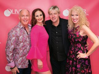 Andrew Heller, Corrine Kelley, Olivier Manoury and Tania Heller.