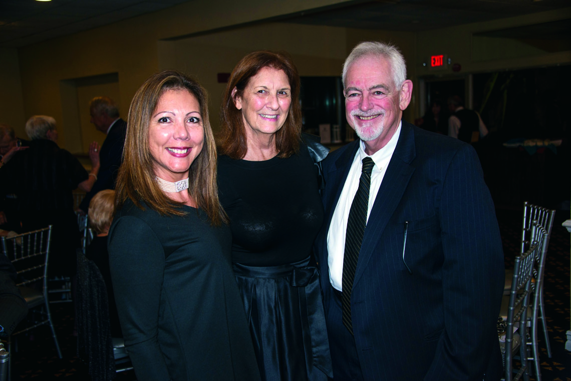 Giuliana Hirshon, Gloria and Anthony Jacaruso.