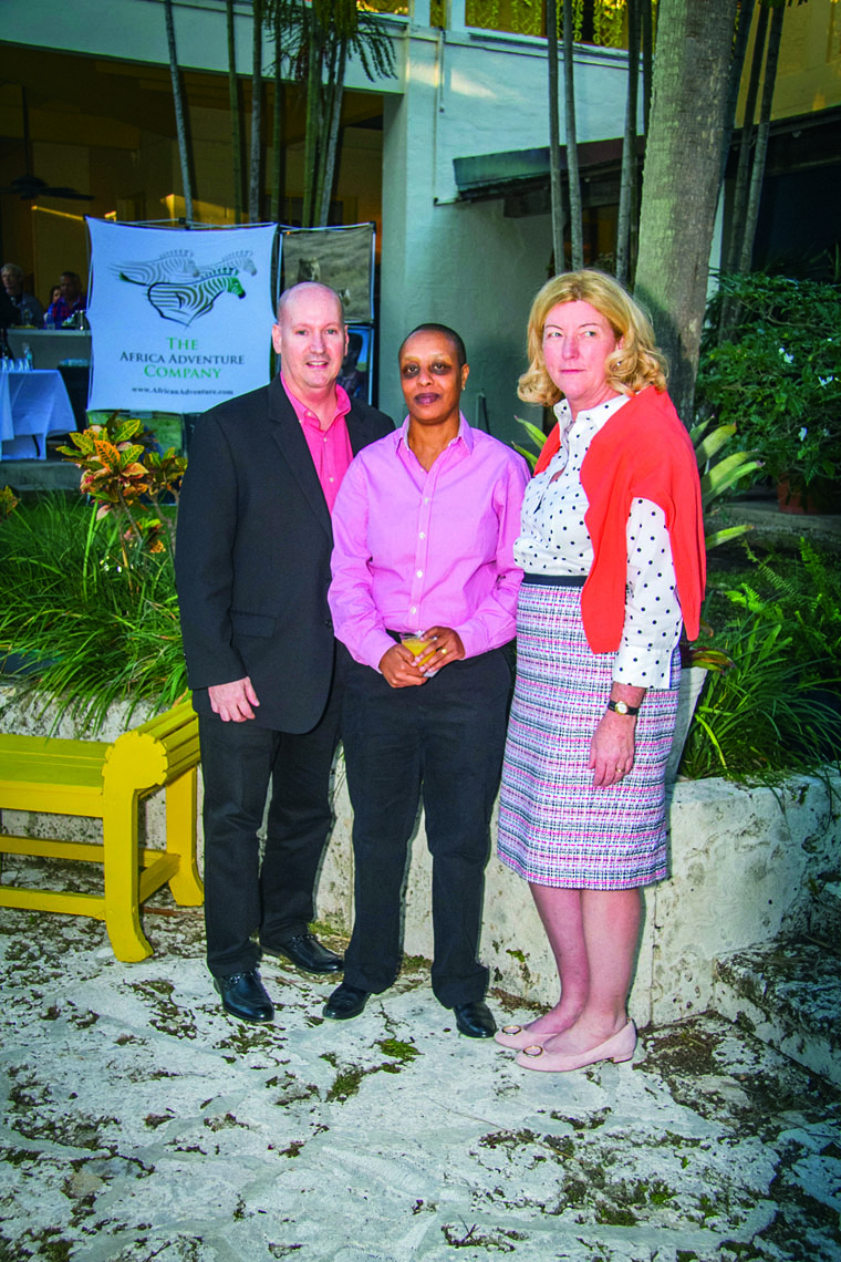 Bill Rivard, Jean Kungu and Alison Nolting.
