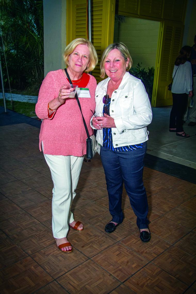 Eileen Rubenstein and Norma Scherer.