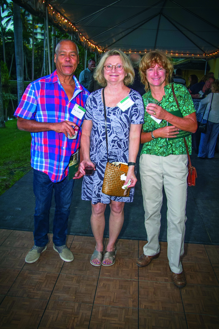 Tony Millet, Carol Lebischak and Ann Snyder.