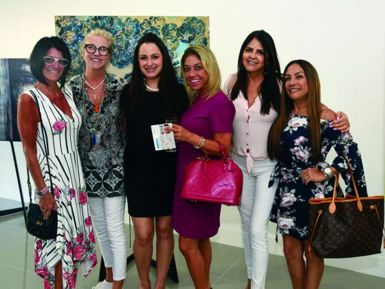 Wendy Weiss, Lena Luckey, Gigi Giusti, Samantha Gamero, Maritza Meza, and Monica Feinstein.