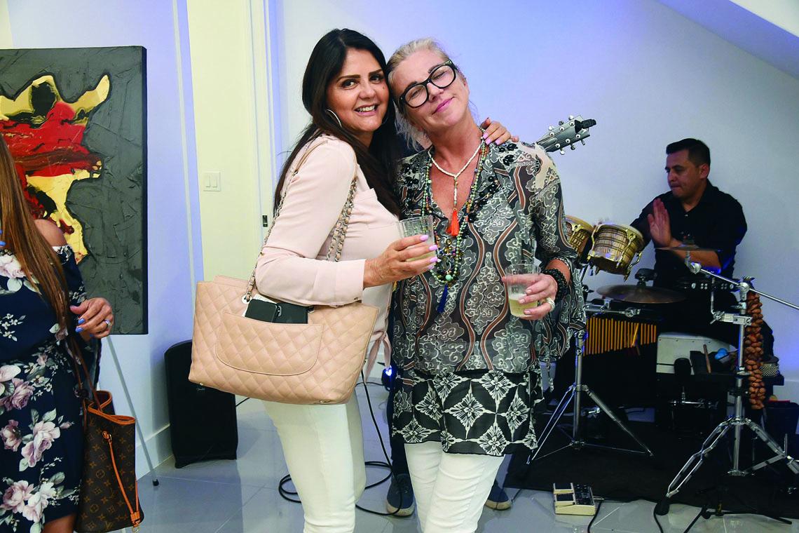 Maritza Meza and Lena Luckey.