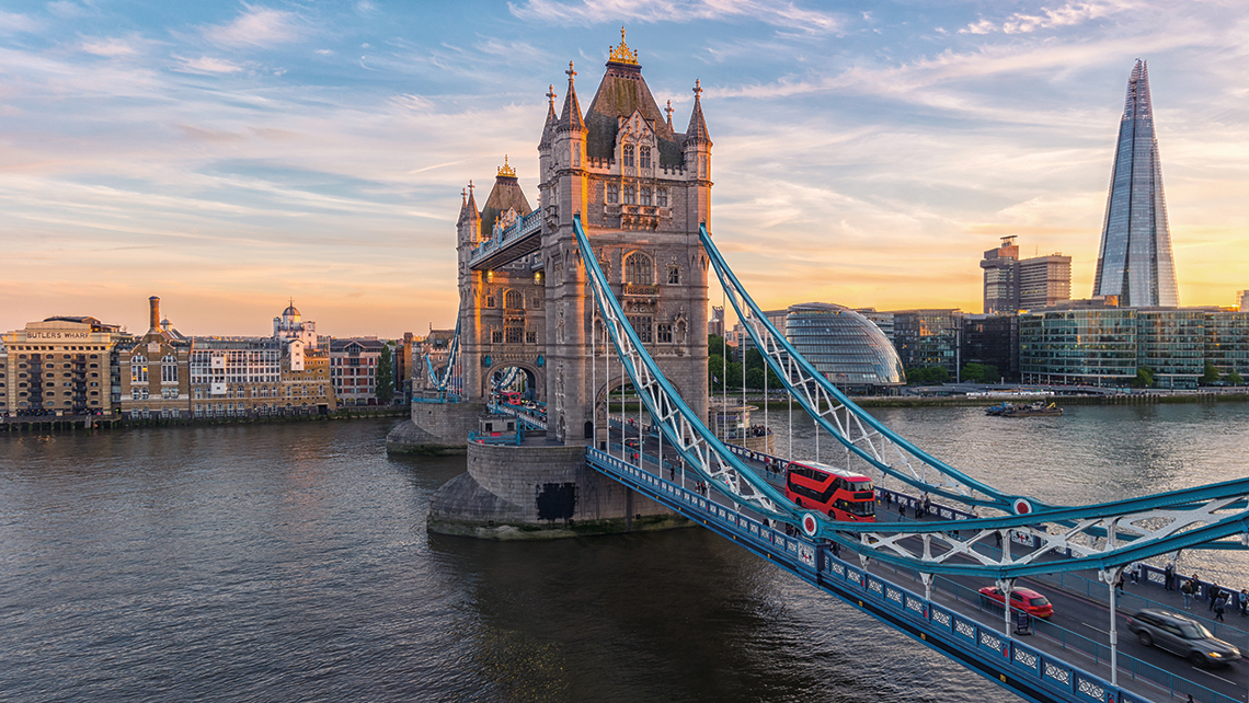Tower Bridge. <em>Photography: Shutterstock / r.classen.</em>