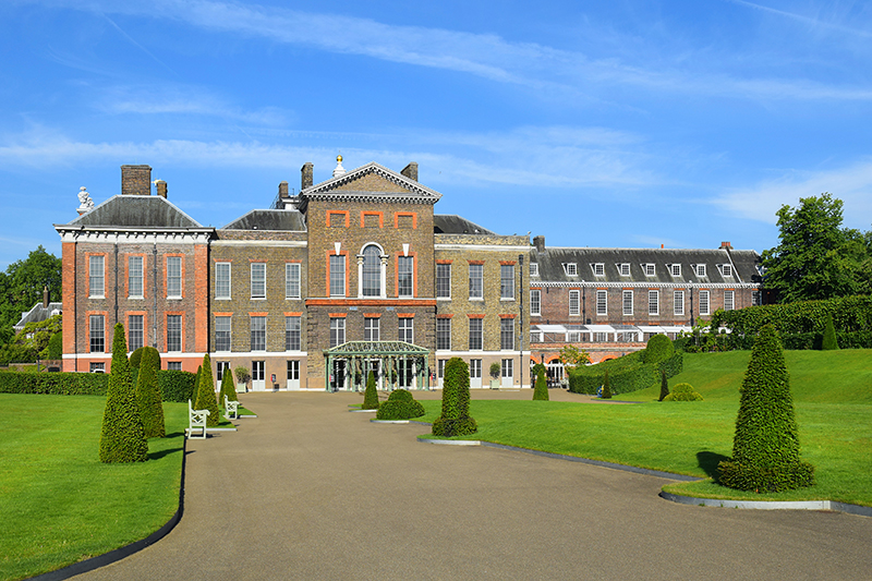 Kensington Palace. Photography: Shutterstock / irisphoto1,