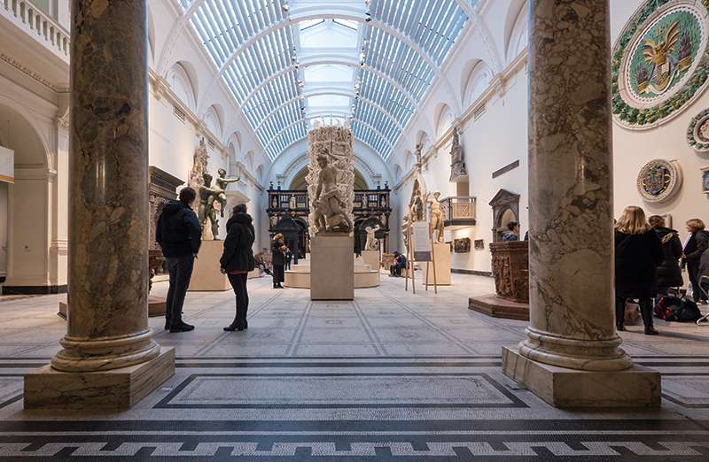 The Victoria & Albert Museum. Photography: shutterstock / photocritical.