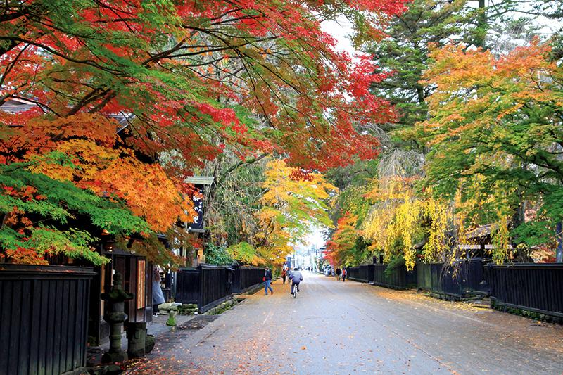 Kakunodate samurai village. Photography: Shutterstock / jirobkk.