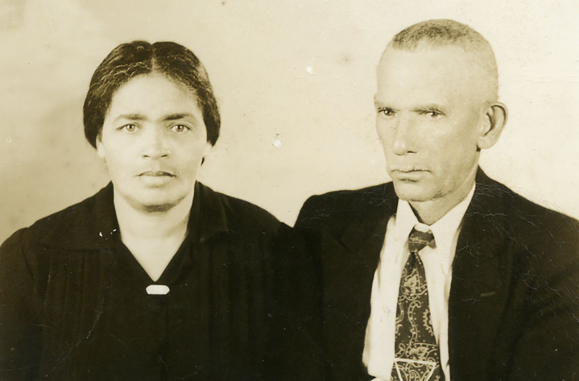 Minnie & Isadore Mizell, 1910. <em>Photography: Broward County Library Historical Archives.</em>