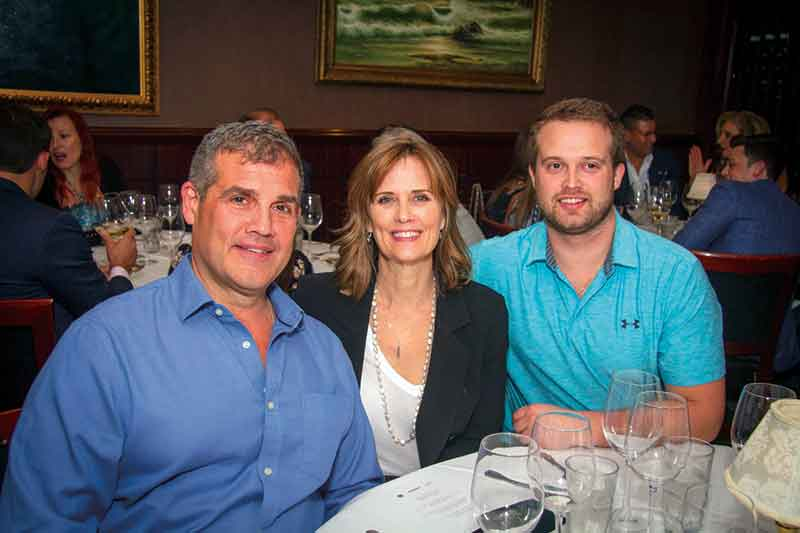 John, Ann and Michael Kary at Night Two of DINE Fort Lauderdale at The Capital Grille. <em>Photography: Smitcho Photo Images.</em>