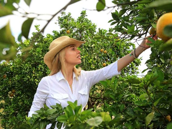 Sarah Frey of Frey Farms. Photography: Frey Farms.