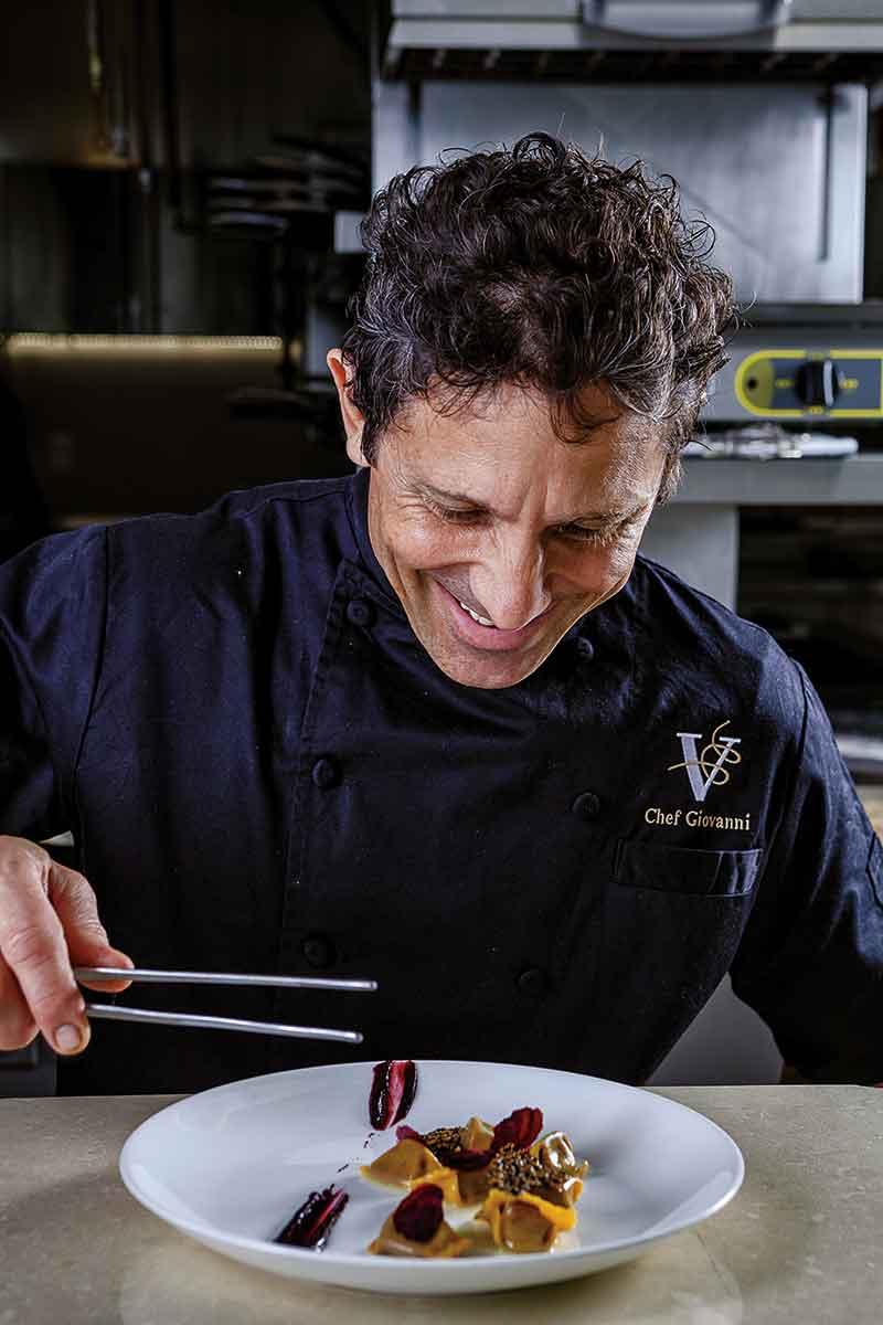 Chef Giovanni Rocchio of Valentino Cucina Italiana.